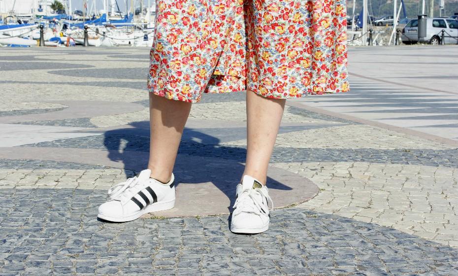 Ao que parece, as Adidas Superstar são uma tendência internacional. Estão por todo lado nas ruas de Lisboa!