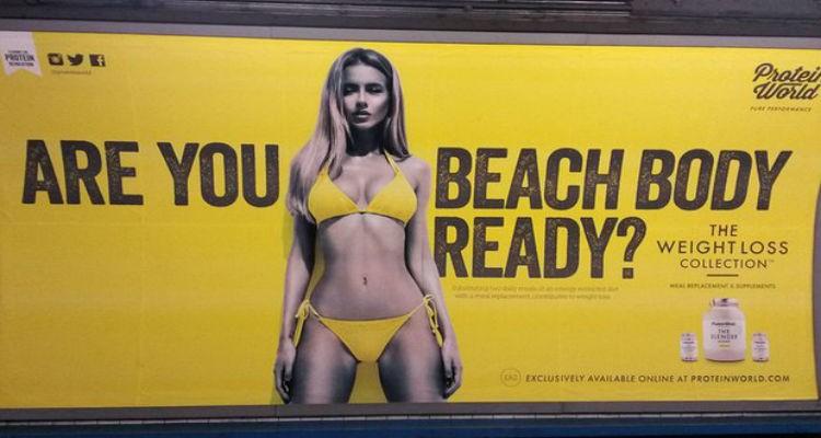 Publicidade acusada de humilhar o sexo feminino