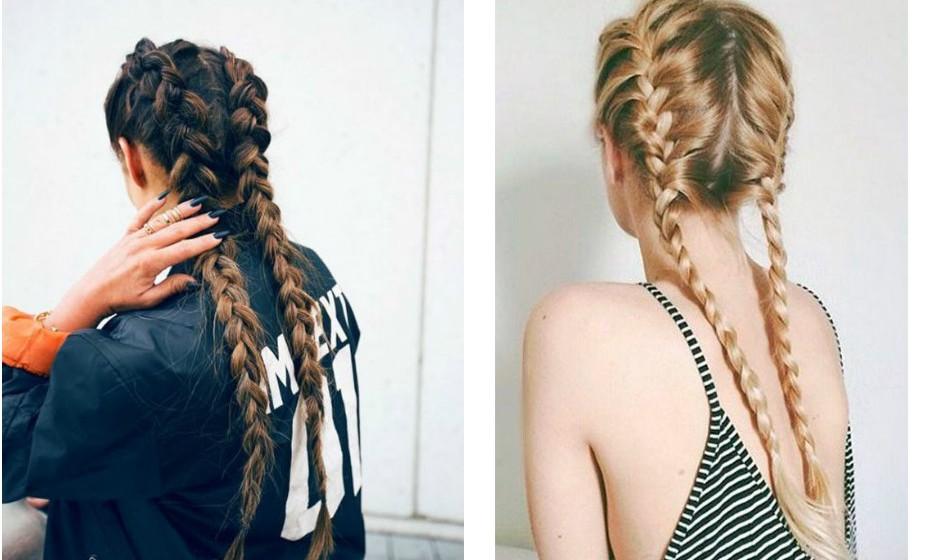 Esta é a nova tendência de penteados graças a Kylie Jenner. A trança de raiz dupla pode ser difícil de aprender, mas é tudo uma questão de prática. É perfeita para um 'bad hair day'.