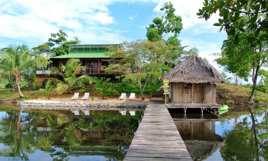 Isla Paloma, no Panamá. Encontra-se à venda por 340, 953 euros.