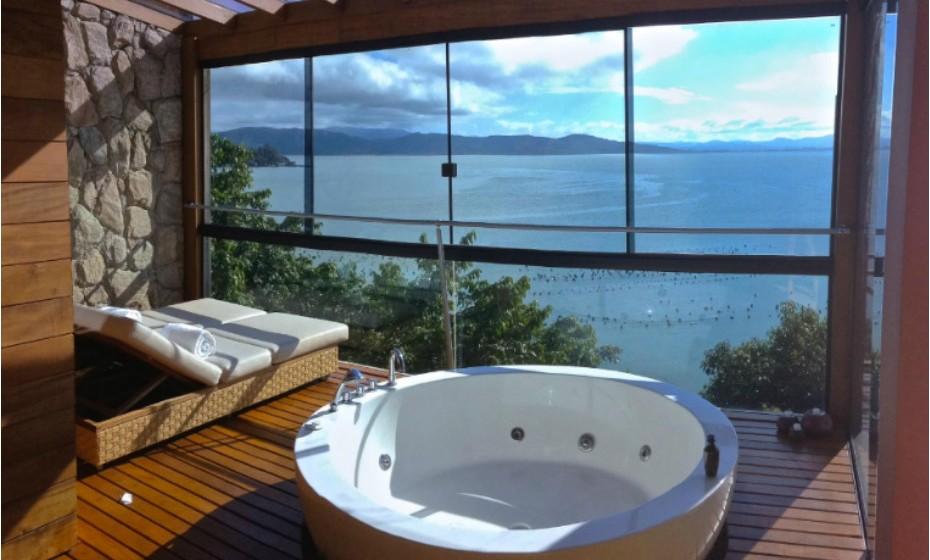 Ponta dos Ganchos Exclusive Resort, no Estado de Santa Catarina, Brasil.