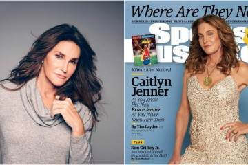 Caitlyn Jenner é capa da 'Sports Illustrated' para celebrar a sua carreira
