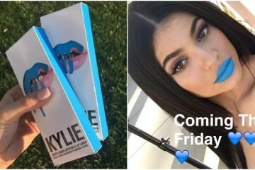 Kylie Jenner lança cores de batom novas