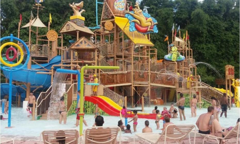 10. Hot Park, Rio Quente, Brasil.