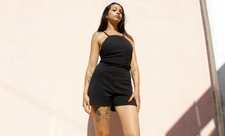 Carina Alexandra tem apenas 18 anos mas já conta com 22 desenhos no seu corpo e pretende ter mais.