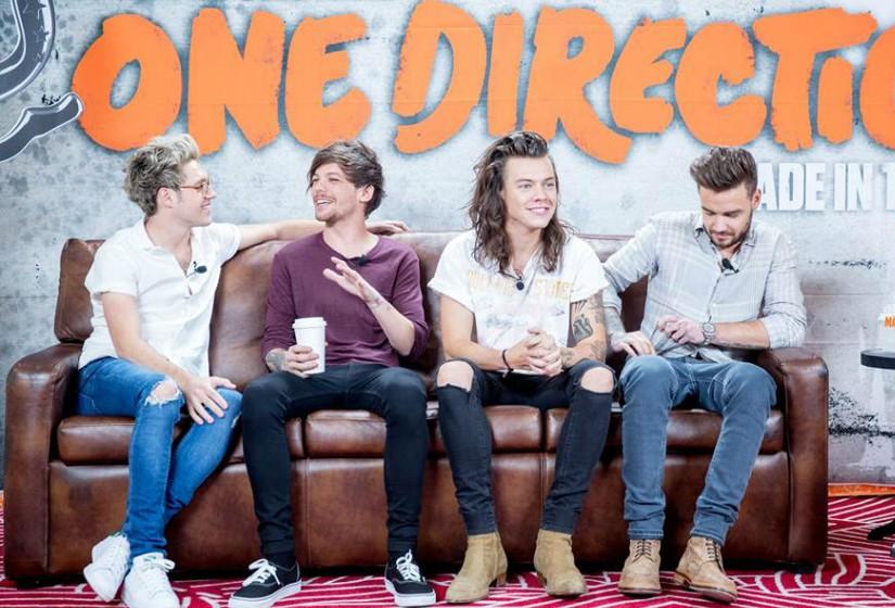 2. One Direction, com cerca de 110 milhões de dólares (quase 100 milhões de euros).