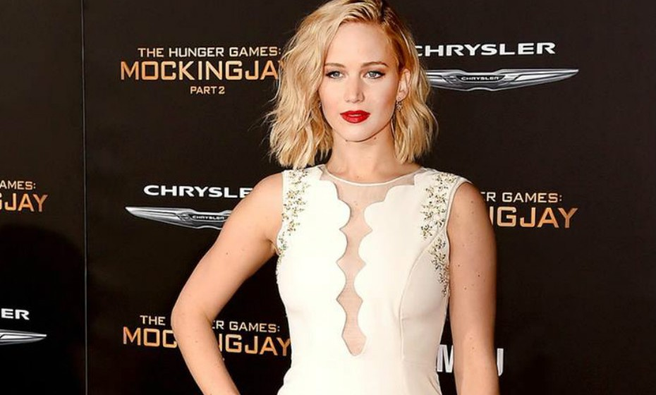 3. Jennifer Lawrence.