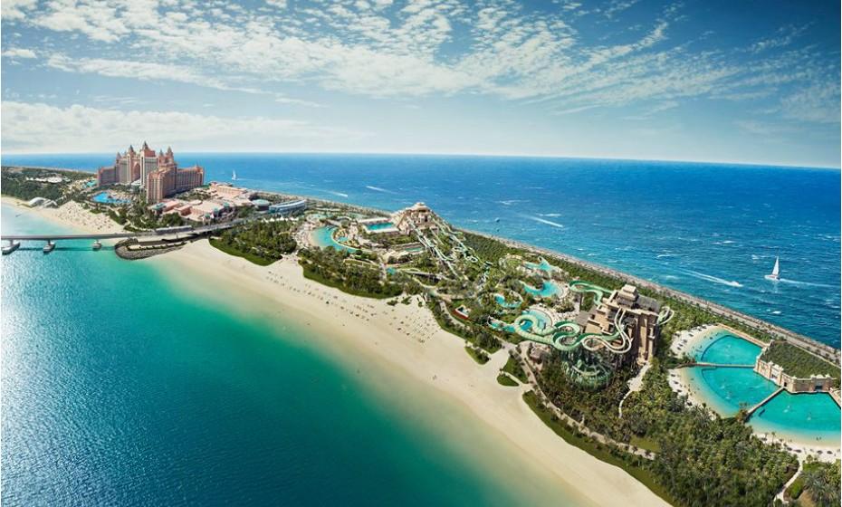 3. Aquaventure Waterpark, Dubai, Emiratos Árabes Unidos.