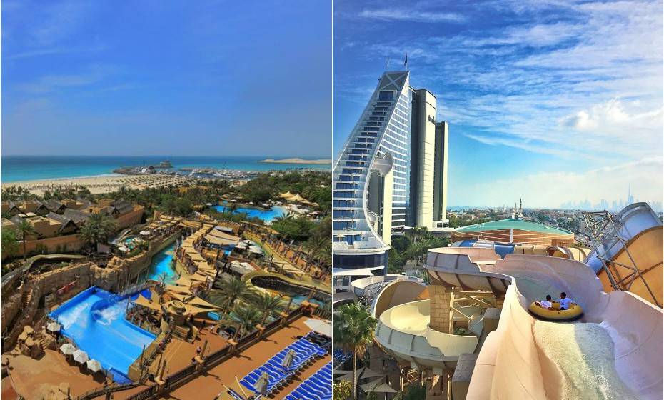 6. Wild Wadi Water Park, Dubai,  Emiratos Árabes Unidos.