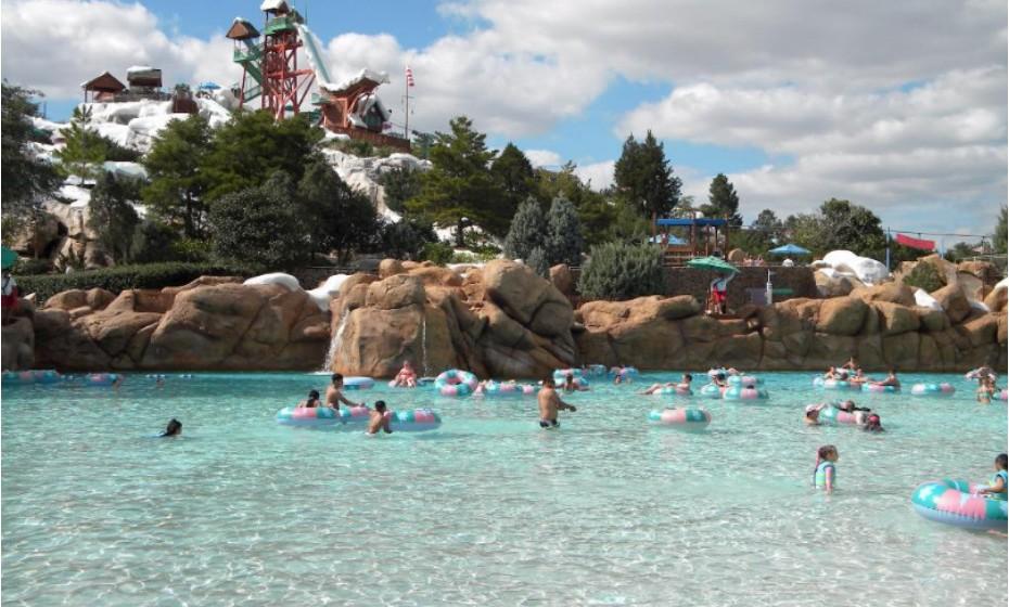 7. Disney's Blizzard Beach Water Park, Orlando, Estados Unidos da América.