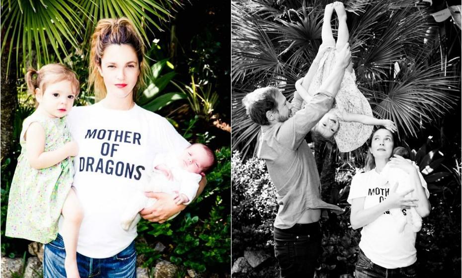 Drew Barrymore experienciou seis meses de depressão após o nascimento da sua filha. «Eu não tive depressão pós-parto depois da primeira gravidez, sentia-me muito bem. Depois da segunda vez percebi finalmente aquilo de que muitas mulheres falam: a depressão pós-parto».