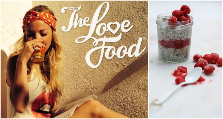 'The Love Food', um amor incondicional pela comida que faz bem