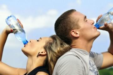 Bebe água suficiente?