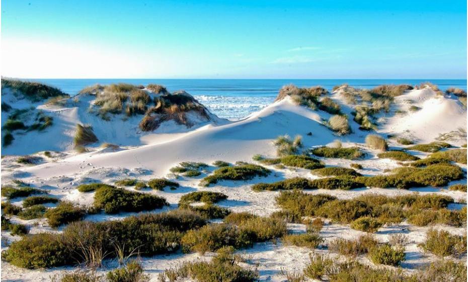 A Ilha de Tavira, no Algarve, é o local perfeito para quem gosta de estar em espaços grandes e imensos.