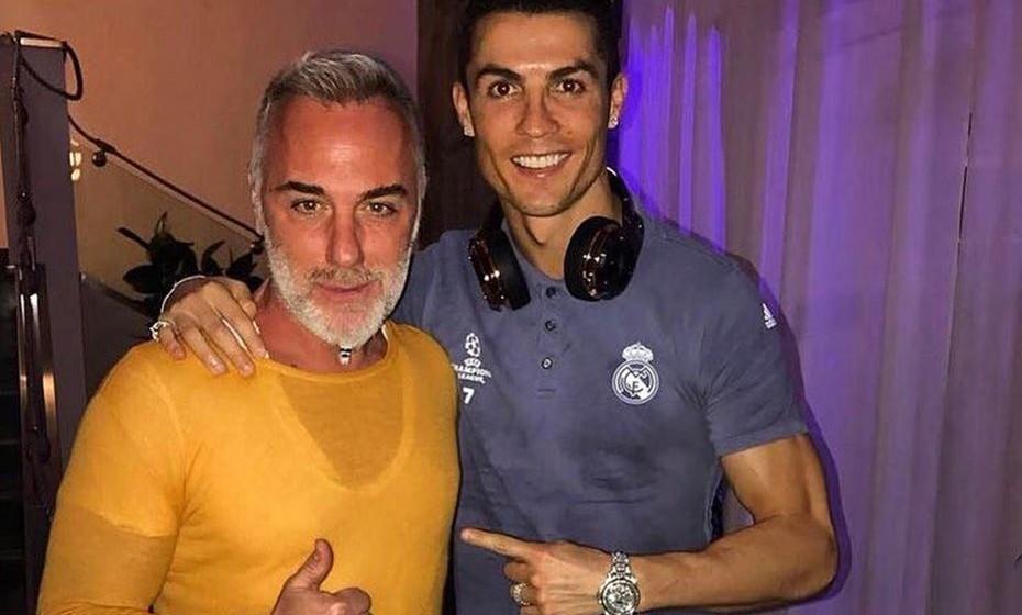 Gianluca Vacchi e Cristiano Ronaldo