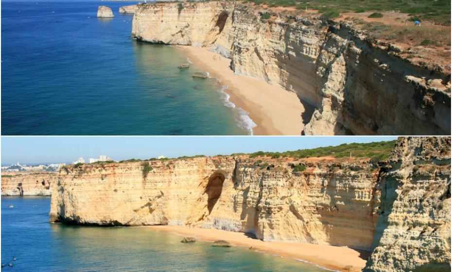 Na Praia da Afurada não vai ter testemunhas. Esta é uma praia bastante solitária e isolada devido ao seu difícil acesso.