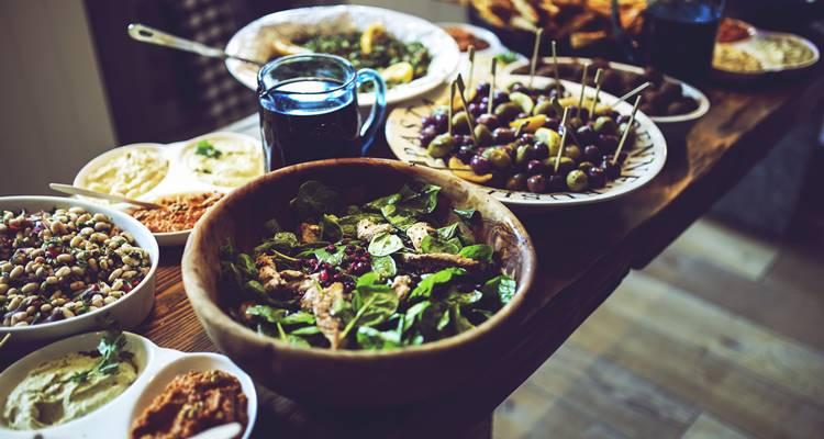 Dieta mediterrânica beneficia saúde mental