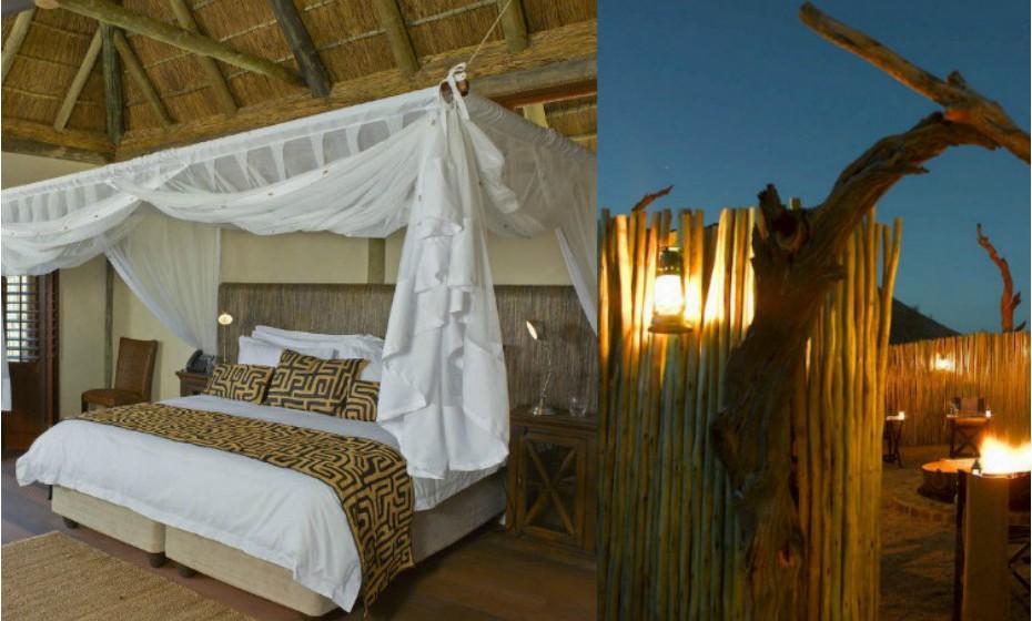 Tutwa Desert Lodge, África do Sul – Este hotel tem uma filosofia ecológica. Este é um lugar onde a conservação de energia, o respeito pela natureza e a conservação da flora e fauna são imperativas. O espaço garante umas férias únicas num espaço praticamente inalterado. O hotel está localizado numa área protegida habitada por leopardos, girafas, zebras, antílopes, etc.