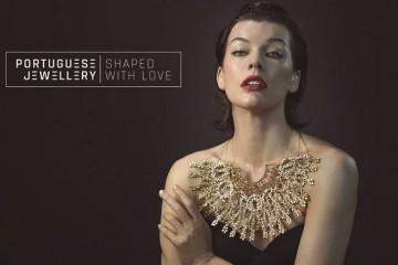 Joalharia portuguesa lança campanha internacional com Milla Jovovich