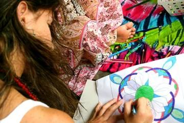 Desenhar e colorir mandalas: uma das fórmulas pra ser feliz