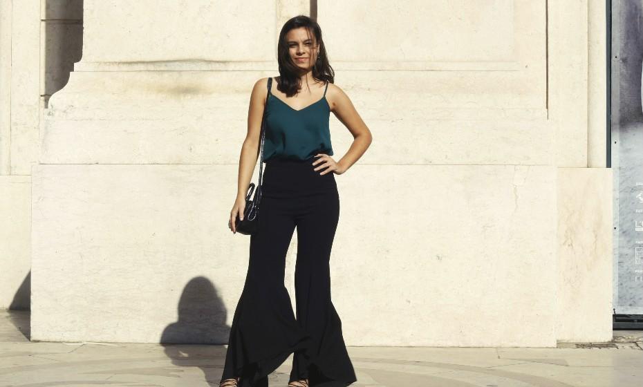 Susana Almeida, 20 anos: «No meu dia a dia não sou tão arrojada, mas hoje decidi caprichar».