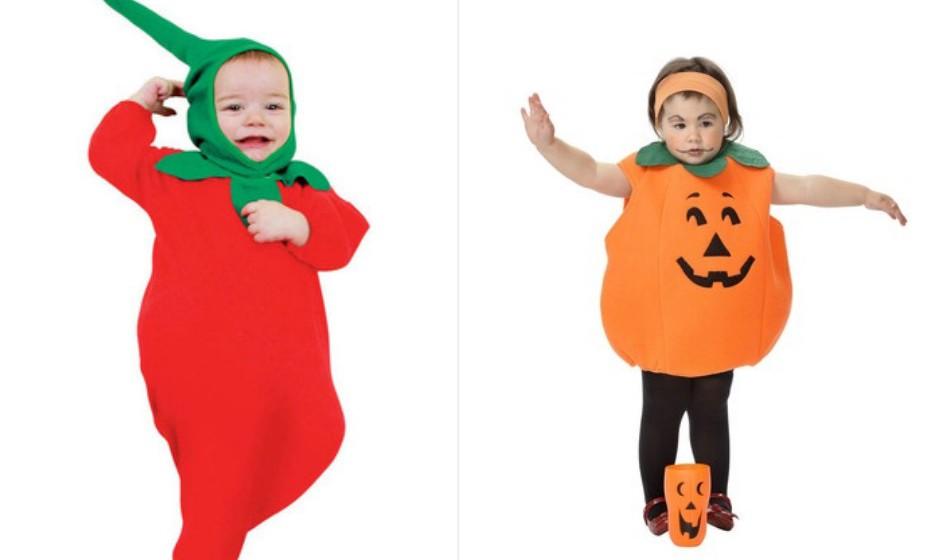 E não podia faltar a frutinha nesta galeria de Halloween: tomate ou abóbora? Na imagem Funidelia.