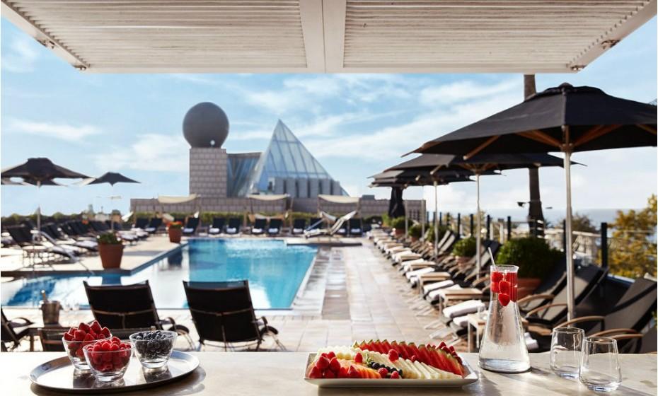 2º - Hotel Arts, Barcelona, Espanha.