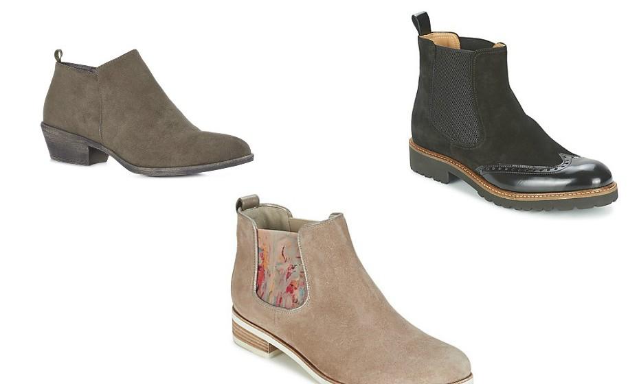 Os botins são o calçado mais confortável e versátil de sempre. Para o dia, para a noite, durante as várias estações e nos mais variados estilos. Na imagem: Volegar Gabor e Primark.