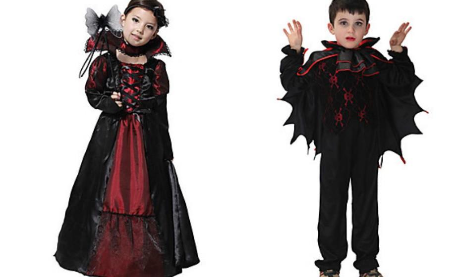 O disfarce de Drácula e de vampiro são dos mais populares. Na imagem: Lightbox.