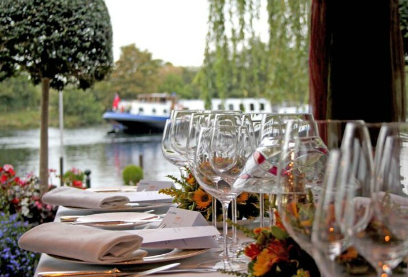 7º -  Waterside Inn -- Bray on Thames, Inglaterra