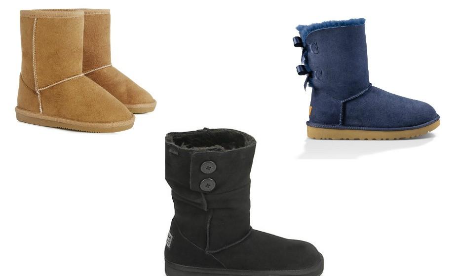 Quem nunca teve umas botas estilo pantufa que atire a primeira pedra! Estas botas são verdadeiras nuvens nos pés. Na imagem: UGG, Skechers
