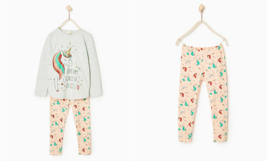 'Sonha como um unicórnio' sugere este modelo da Zara.