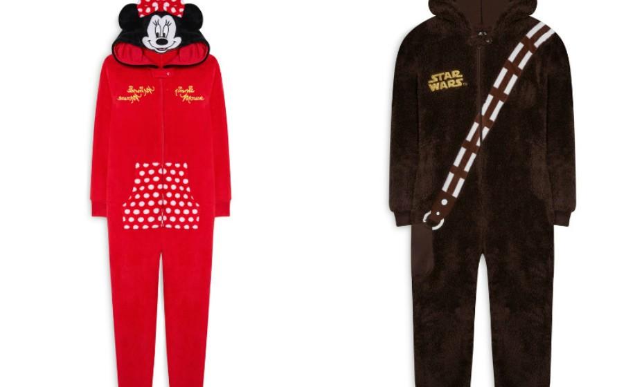 A Primark é a rainha dos pijamas em forma de macacão. As crianças tanto podem dormir como Minnies ou no conforto do imaginário de 'Star Wars'