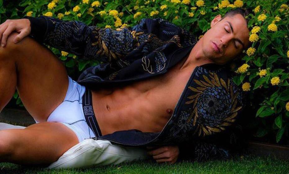 Cristiano Ronaldo tem a sua própria marca – 'CR7'.