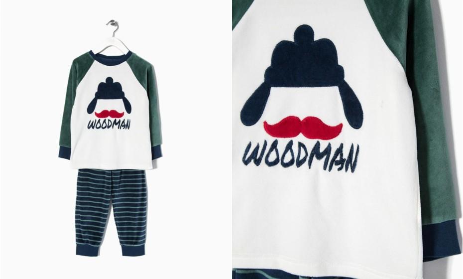 Deixe o seu filho escolher um pijama novo para este outono-inverno. Na imagem: Zippy
