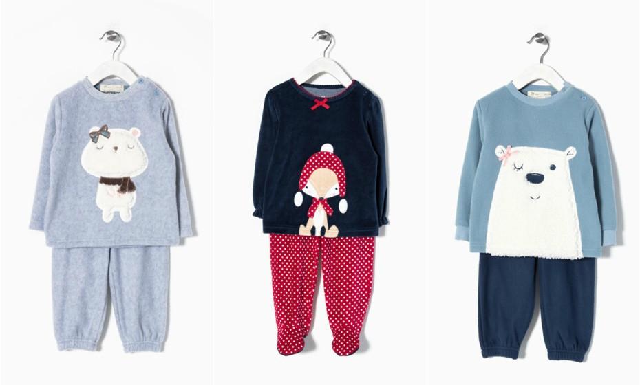 Os bebés também merecem (e devem) dormir quentinhos Para as meninas a Zippy sugere estas peças.