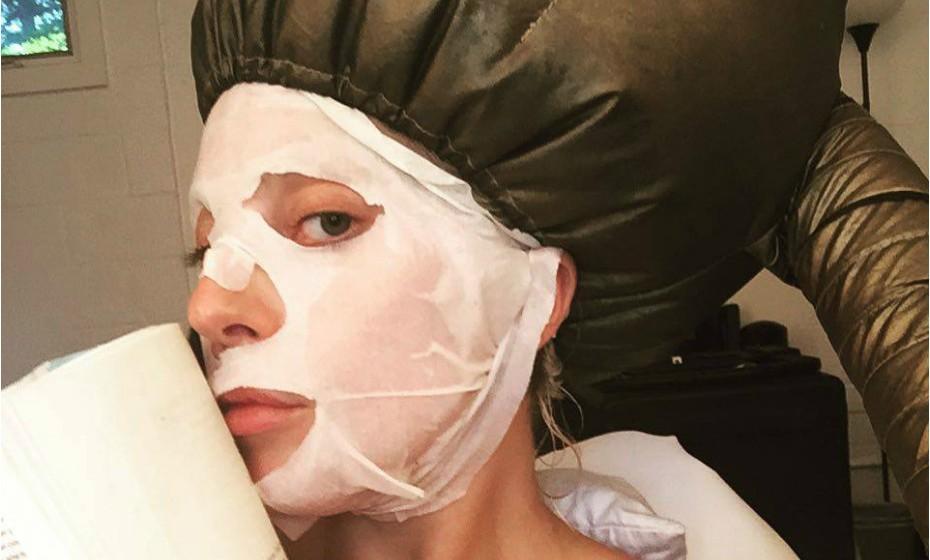 Lady Gaga num momento exclusivamente dedicado à sua imagem.