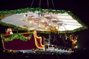 Jantar com o Pai Natal a bordo de um trenó já é possível