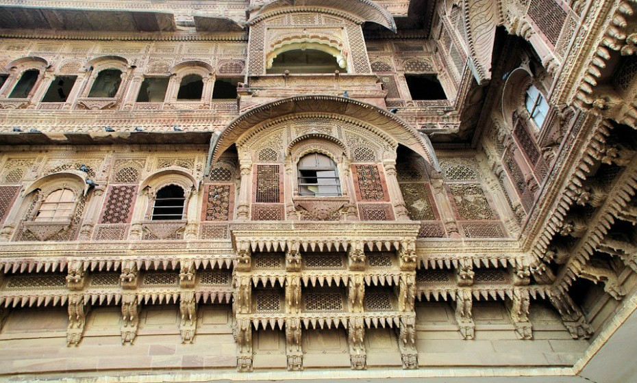 10. Jodhpur, India - Os impressionantes edifícios em Jodhpur contrastam lindamente com o vizinho deserto de Thar. Explore os palácios, as fortalezas e os templos e apaixone-se pela grandeza histórica da cidade. (Fonte: TripAdvisor)