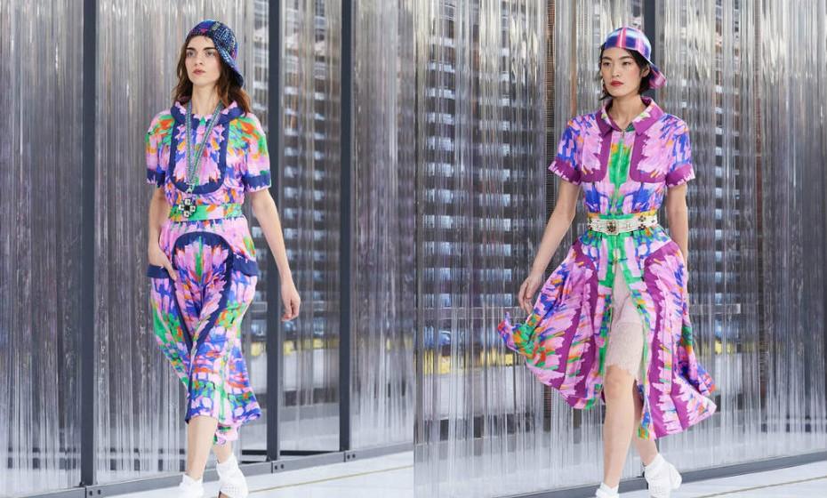 Chanel Coleção primavera-verão 2017
