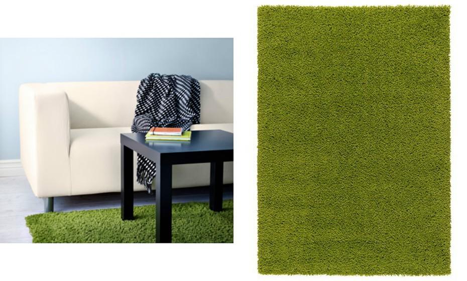 O chão também merece ser brindado com esta 'verdura'. Troque alguns tapetes de casa.