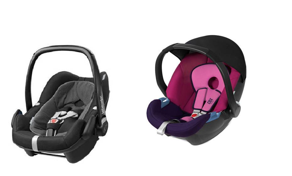 """No """"ovo"""", o bebé viaja numa posição semi-sentada de costas para o trânsito. Esta é a posição mais segura para o transporte no carro."""