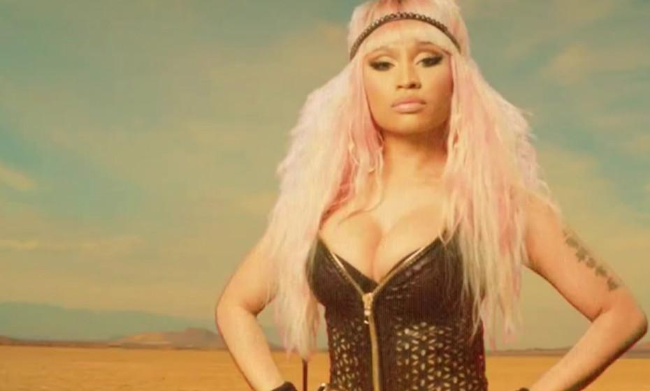 Nicki Minaj tem um visual camaleónico. Também a cantora já passou pela fase rosa.