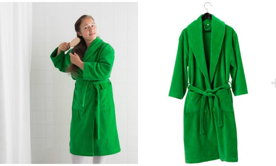Vista-se no conforto desta cor. Aposte num robe com a cor de 2017.