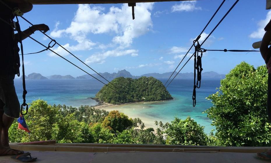 6. El Nido, Filipinas – É conhecido como a última fronteira das Filipinas, e se procura praias magníficas com ambiente tranquilo, este é o lugar perfeito para as suas férias.