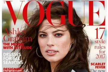 Ashley Graham protagoniza capa da Vogue britânica