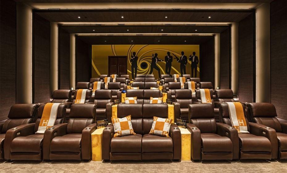 Sala de cinema.