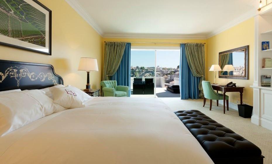 Categoria Melhores Quartos de Hotel:  1. The Yeatman, Vila Nova de Gaia