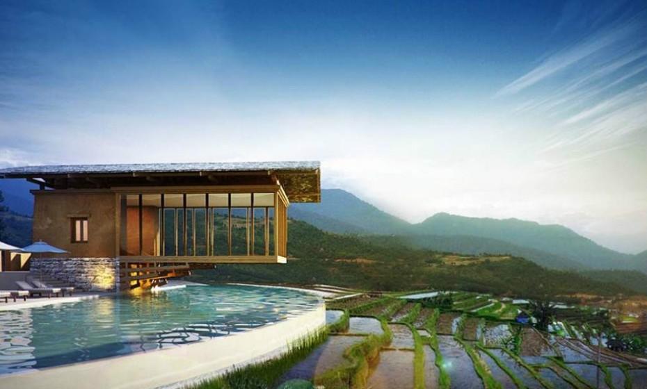 1. Sem data específica prevista, o Six Senses Bhutan, Butão, abre ainda este ano. O negócio econtra-se em expansão por todo o país asiático e as propriedades estão destinadas a serem visitadas em sucessão para obter uma mais aprofundada tour deste reino tao colorido, conhecido como o lugar mais feliz na Terra.
