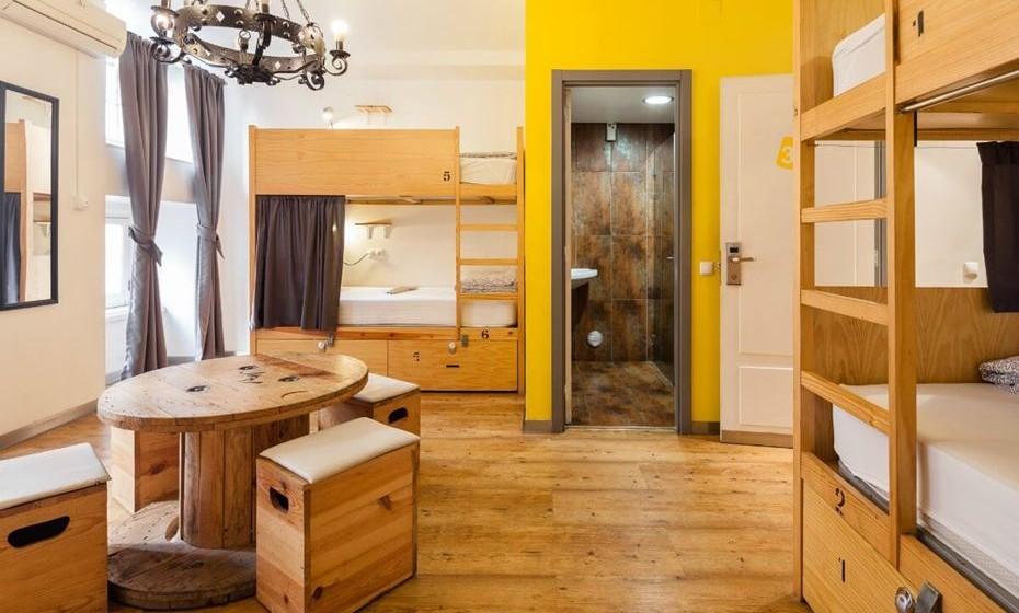 Categoria Alojamentos Alternativos:  1. Yes Lisbon Hostel, Lisboa